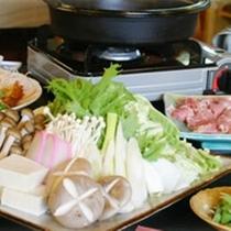 冬の夕食 鍋 1