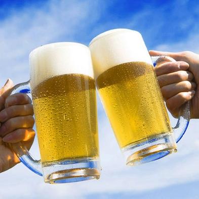 冷え冷えビールとおつまみ付 さらにその日の衣類、洗濯・乾燥が無料!【朝食付】