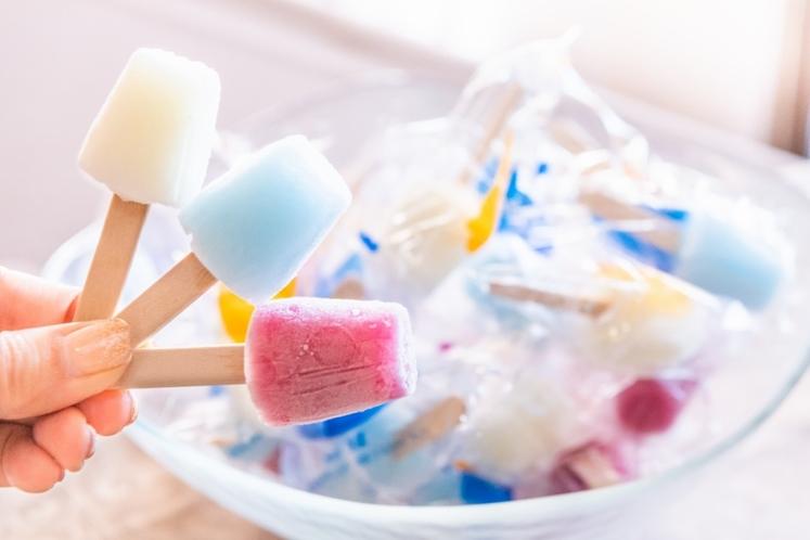 無料のアイスキャンディー!