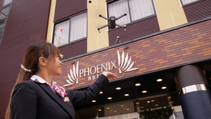 ホテル外観2020外装リニューアル