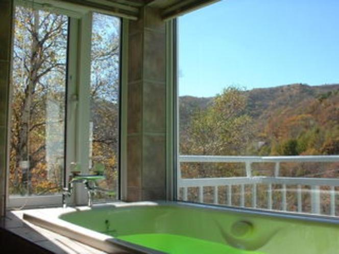 2階展望風呂