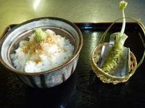 河津七滝のソウルフード、生わさびを使ったわさび丼※イメージです。