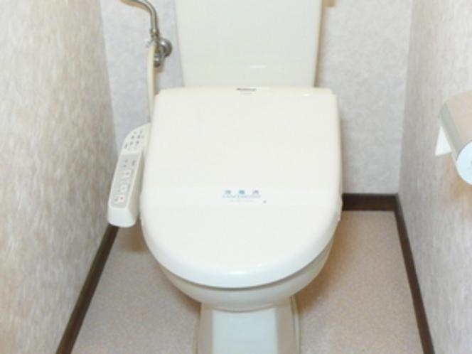 全客室に洗浄機付きトイレ付です