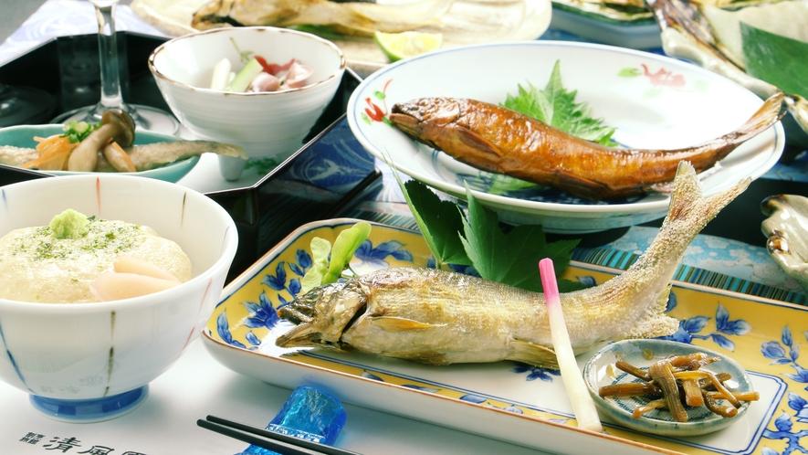 ~夏のお料理~新鮮な鮎だからこそおいしく召し上がれる内容となっております