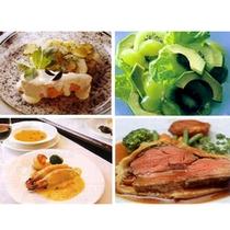 【夕食(一例)】料理4品A