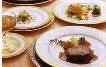 フルコース料理 1例