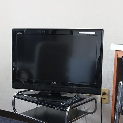 *【お部屋】全室共通で薄型TVの設置を行っています。