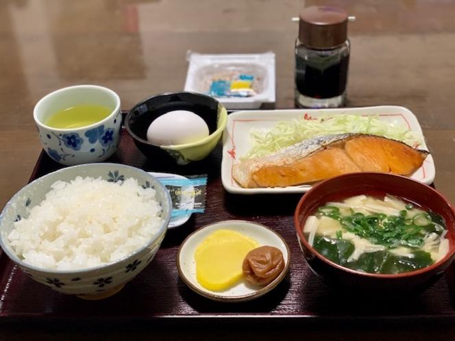 【朝食】和食