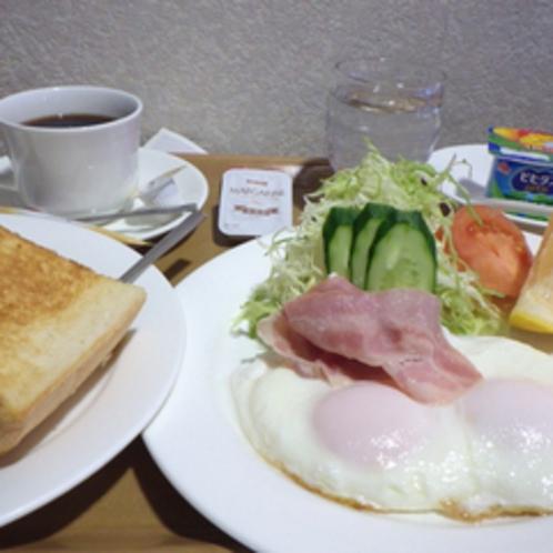 *【お食事例(洋朝食)】朝はやっぱりパン!という方のための洋朝食。