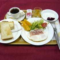 *【お食事例(洋朝食)】ヨーグルトや卵料理等内容も充実♪