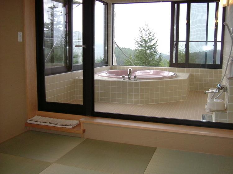 貴船・浴室