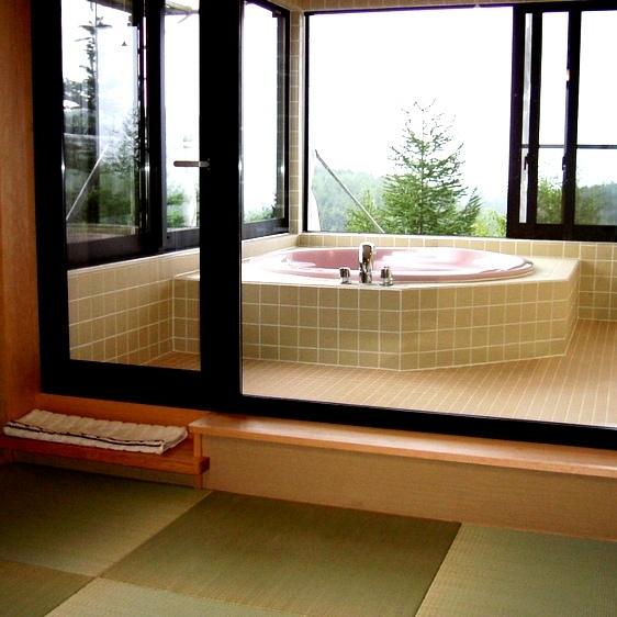 特別室『貴船』展望露天風呂1