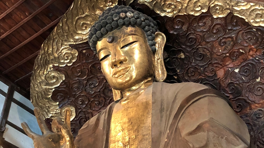 岐阜大仏(正法寺)