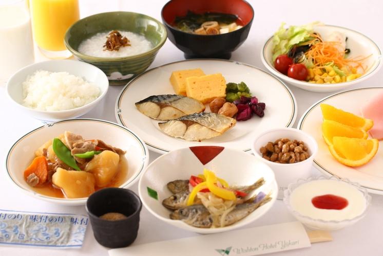「朝食」和食が充実しました。