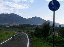 夏の、蒜山高原自転車道