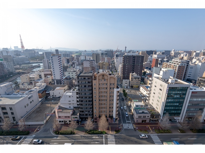 眺望イメージ(昭和通り)昼