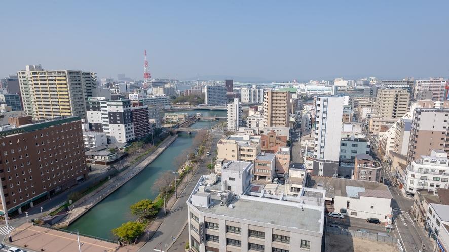 眺望(昭和通り側)