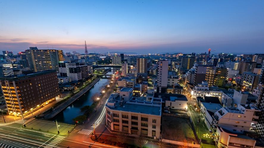 眺望(昭和通り側 夜)