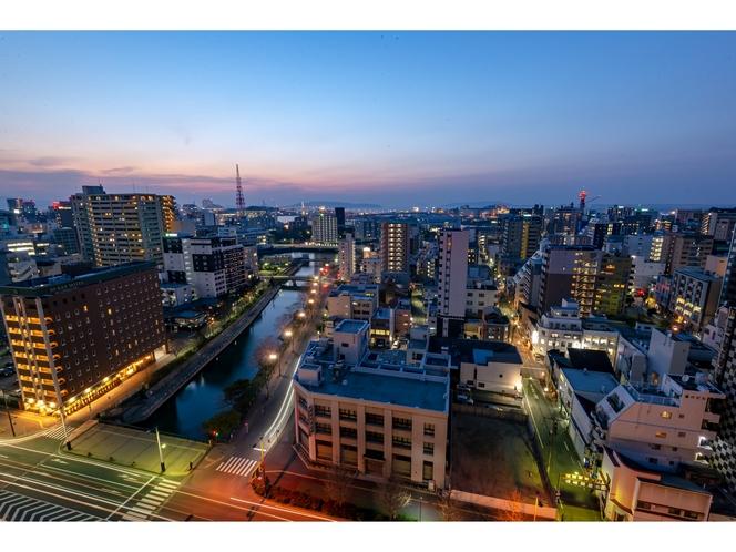 眺望イメージ(昭和通り)夜
