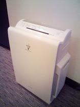 空気清浄機能付き加湿器