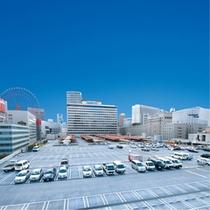 阪急梅田駅屋上駐車場