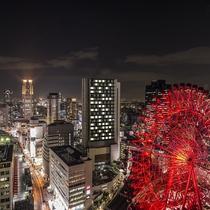 阪急グランドビル27階『グランド白楽天』店内より夜景イメージ