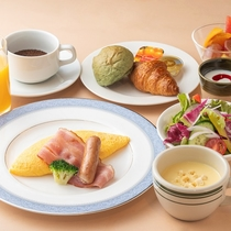 オリンピア朝食「洋定食」
