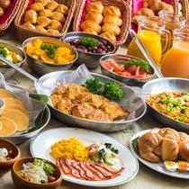 朝食ビュッフェ 館内地下1階「オリンピア」洋食メニュー