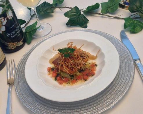 【巡るたび、出会う旅。東北 食】一泊2食フランス料理ディナー宿泊プラン