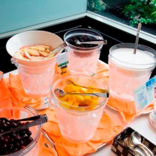 【朝食】フルーツコーナー