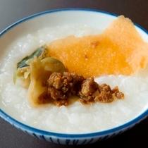 【朝食】中華粥