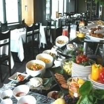 11階レストラン「オーク」朝食バイキング