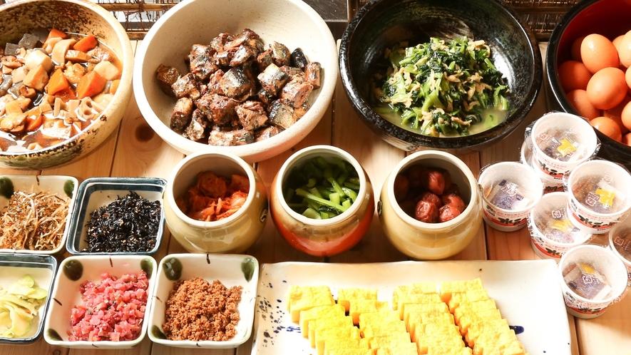 レストランオーク朝食 和食お惣菜