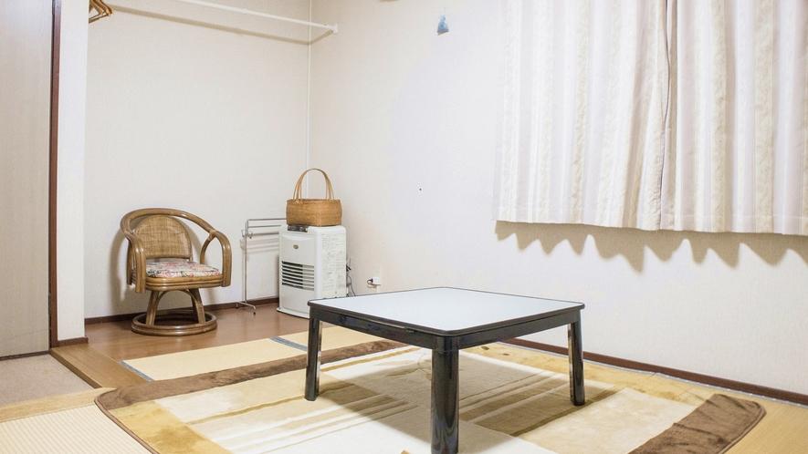 *和室/足を伸ばしてくつろげるのが嬉しい畳のお部屋