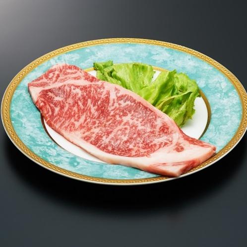 上州f牛サーロインステーキ