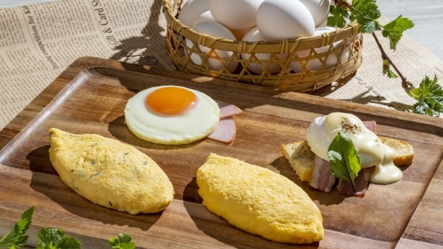 石川県の能登から届いた新鮮な卵でオーダー制の玉子料理をご用意。