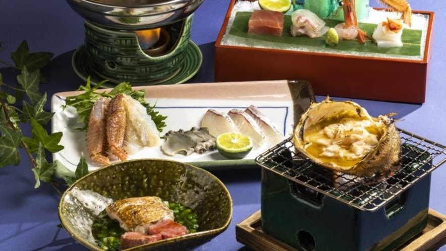 日本料理 雲海 で味わう石川の恵み。旬の山海の幸をご堪能ください。