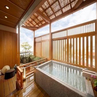 絶景!露天風呂付12畳和室「杠」