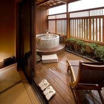 ■露天風呂付客室 アスナロ 3