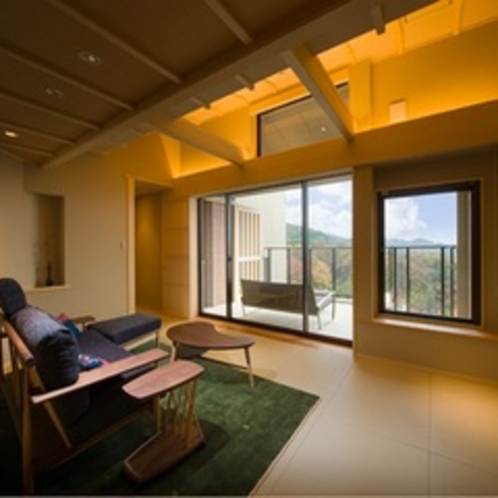 ■樹亭 新露天風呂付客室