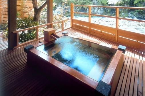 本館・露天風呂付リバーフロント客室和室タイプ
