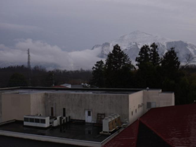 雪山武甲山