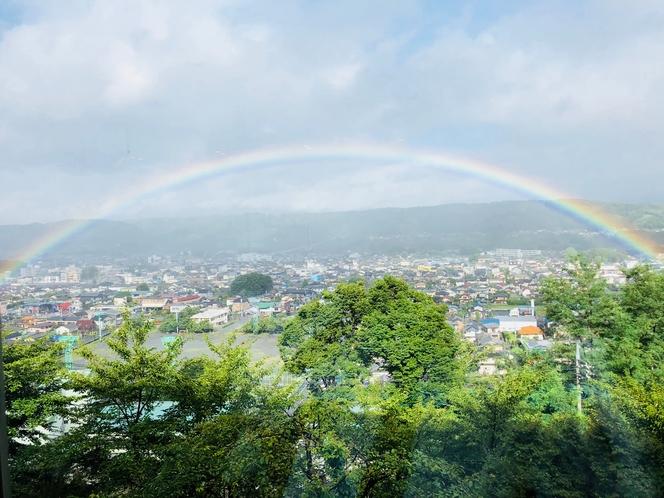 台風12号~虹