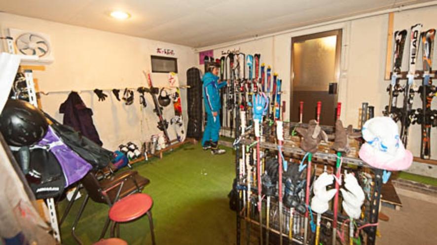 スキー・スノボ乾燥室