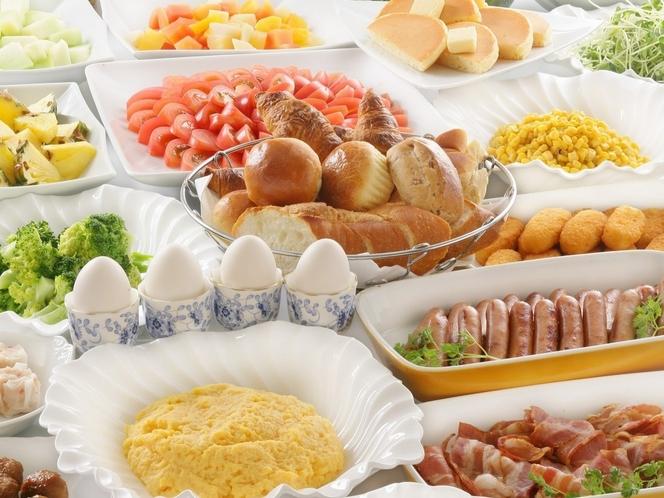 和洋朝食バイキング(イメージ)