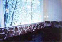 雪見の内湯岩風呂