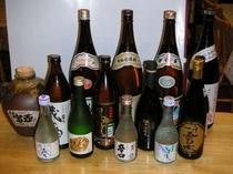 地酒と本格焼酎