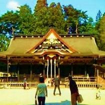 【国宝大崎八幡神社】当家の先祖が岩手県水沢より自領地の田尻町へ遷祀した。(安産と学業に御利益の神社)