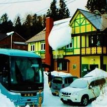 50人様+大型観光バス駐車2台OK♪
