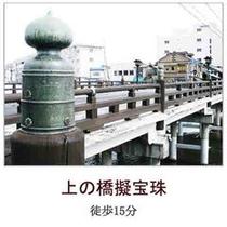 上の橋擬宝珠